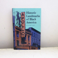 Historic Landmarks of Black America by George Cantor, African American History, American History, Hard cover book, history book, text book