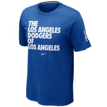 L.A. Dodgers Nike Los Angeles Local T-Shirt – Royal Blue
