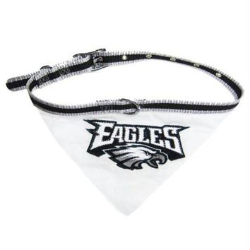 ESBONI Philadelphia Eagles Dog Collar Bandana