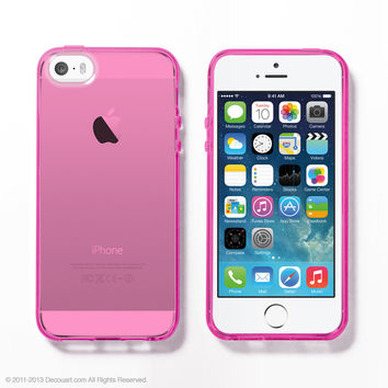 Pink Soft Clear iPhone 6 / 5s case