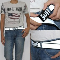 Canvas Supreme Lighting Men Casual Waistband [9436860167]