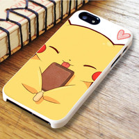 Pikachu Cute Pokemon Anime Cartoon iPhone 6 Case