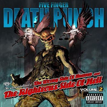 Five Finger Death Punch - Wrong Side of Heaven & Righteous Side of Hell 2 [Explicit Content] -  (Vinyl)