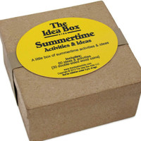 Summertime Activities & Ideas ... Preschool and Kids Summer Activities ... The Idea Box for Kids