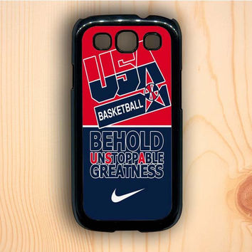 Dream colorful USA Basketball Greatness Samsung Galaxy S3 Case