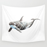 Orca 2012 Wall Tapestry by Ellaquaint