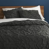 Melyssa Carbon King Duvet Cover