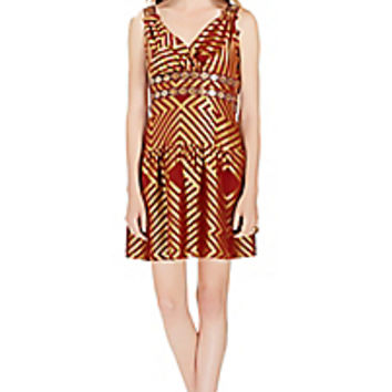 DVF Eugenia Embellished Shift Dress