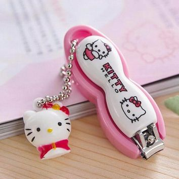 New Hello Kitty Lovely Baby Nail Care knife Nail Clippers
