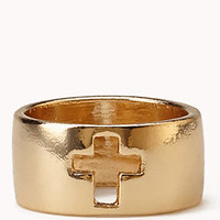 Cutout Cross Ring | FOREVER 21 - 1055329452