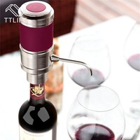 TTLIFE Fashion Gift Wine Pourer Electric Red Wine Decanter Homebrew Electric Cider Pump Aerator Pourer Wine Accessories