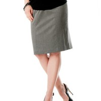 A Pea in the Pod: Secret Fit Belly(tm) Knee Length Pencil Fit Maternity Skirt $69.50