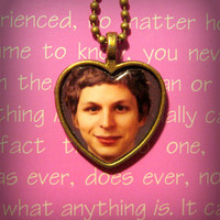 George Michael Bluth Arrested Development Necklace Pendant