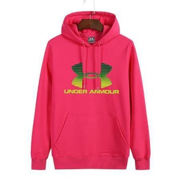 One-nice™ Under Armour Women Man Fashion Print Sport Casual Top Sweater Pullover Hoodie