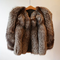 N H Rosenthal Fox Fur Coat