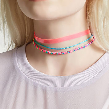 Colorful Choker Set