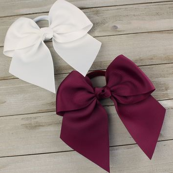 Cheer Ponytail Hair-Bow