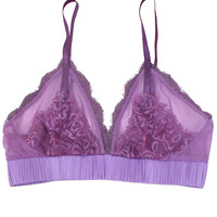 Luxe Eyelash Bra  -  Orchid