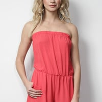 Decker Jamie Romper - Red