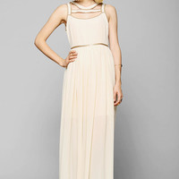 Staring At Stars Cutout-Neck Maxi Dress - Urban Outfitters