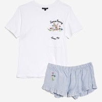 'Some Bunny Loves' Me Jersey Set | Topshop