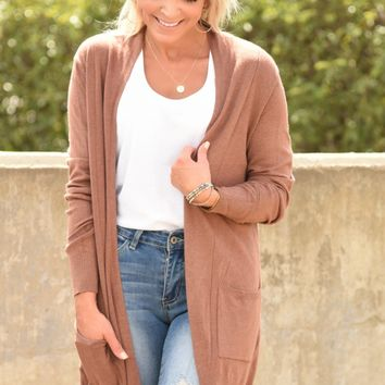 Simply Heaven Cardigan - Ginger