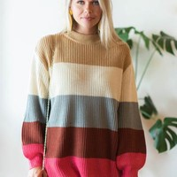 Let's Get Cozy Sweater, Multi