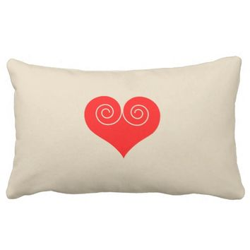 Heart Lumbar Pillow