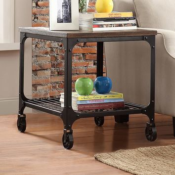 HomeVance Comerford End Table (Brown)