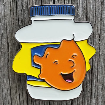 Doug Patti Mayonnaise Enamel Lapel Pin