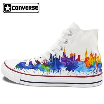 ONETOW chicago painted converse