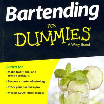 Bartending for Dummies (For Dummies (Cooking))