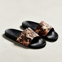 UO Camo Slide Sandal | Urban Outfitters