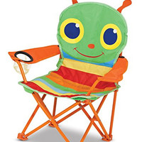 Melissa & Doug Sunny Patch Giddy Buggy Outdoor Folding Lawn and Camping Chair