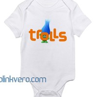 Trolls Awesome Baby Onesuit Unisex Cute all size boy girl