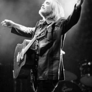 "Tom Petty Poster Black and White Mini Poster 11""x17"""