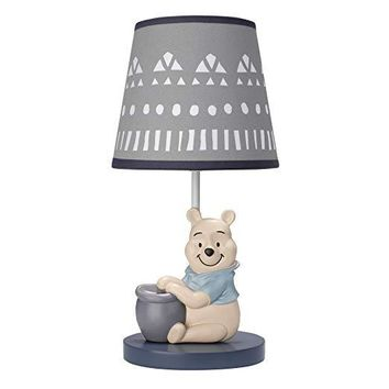 Lambs & Ivy Disney Baby Forever Pooh Lamp with Shade & Bulb
