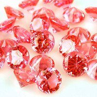 Acrylic Diamond Gemstone Confetti, 3/4-inch, 1lb Bag, 240-Piece