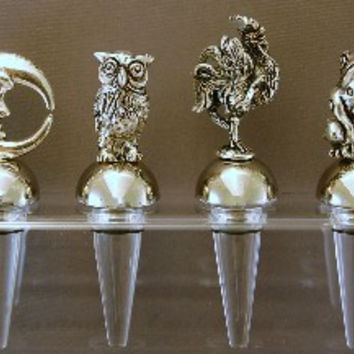 Silver Plated Champagne Stopper
