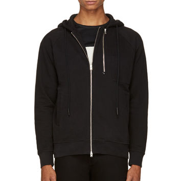 Closed Black Double-zip Hoodie
