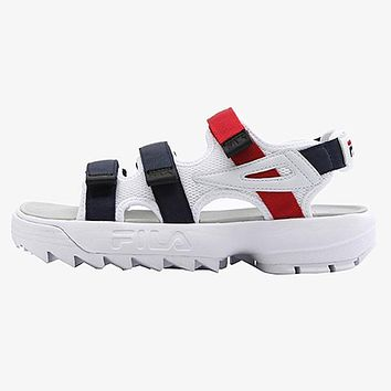 FILA Woman Men Casual Fashion Sandals Flats Shoes