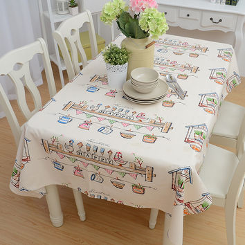 Home Decor Tablecloths [6283655302]