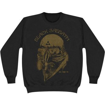Black Sabbath Men's  Us Tour 78 Sweatshirt Black Rockabilia