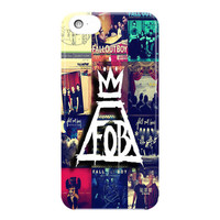 Fall Out Boy Collage For iPhone 5 / 5S / 5C Case