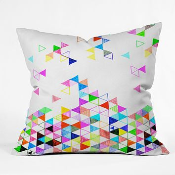 Fimbis Falling Into Place Throw Pillow