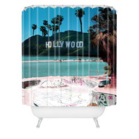 Deny Designs Saltwood Shower Curtain Blue Combo One Size For Men 23689724901
