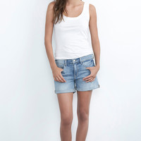 ALLEXA TAILORED BOYFRIEND SHORTS