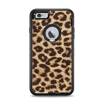 The Simple Vector Cheetah Print Apple iPhone 6 Plus Otterbox Defender Case Skin Set
