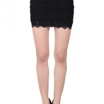 LUXXEL LACE SKIRT