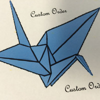 Custom Origami Baby Mobile! Nursery Crib Mobile, Paper Cranes, Butterflies, and more - created to your specifications and colors!